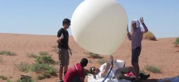 Elképesztő videót készített egy elveszettnek hitt meteorológiai léggömbre szerelt GoPro