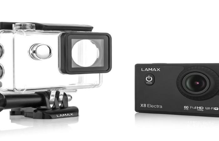 Akciókamera Sportkamera ; Lamax X8 Electra